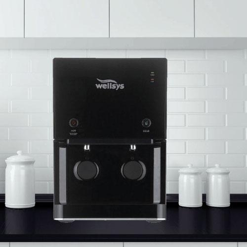 BestFit Water Wellsys-black-countertop-filtered-water-dispenser